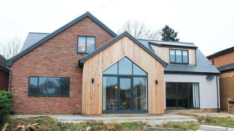 moorlands, wickersley house extension and remodel